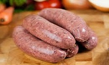 PORK AND BLACK PUDDING SAUSAGES (APPROX 16)